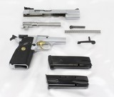 Browning Hi-Power Semi-Auto Pistol 9mm Silver-Chrome