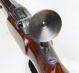 SCHUETZEN SINGLE SHOT RIFLE, - 17 of 26