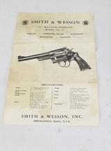 "S&W Model 27-2 Revolver, .357, 5"" Barrel (1967-68) - 25 of 25"