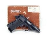 Walther PP Semi-Auto Pistol 7.65mm(1969)