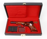Browning Medalist Target Pistol .22LR w/ Case & Weights (1973) VERY NICE