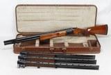 Browning Citori Skeet Combo 4 Bbl O/U Shotgun Set (1982) SUPER NICE - 1 of 25