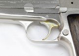 Browning Hi-Power Semi-Auto Pistol 9mm (1981) BRIGHT NICKEL - 14 of 25