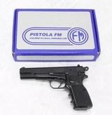 FM Hi-Power M90 Semi-Auto Pistol 9mm NEW IN BOX - 1 of 25