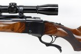 Ruger No.1 Single Shot Rifle .22-250 (1970) & LEUPOLD SCOPE - NICE - 9 of 25