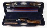 Perazzi Model SCO MX8-20 O/U Shotgun (2 Barrel Set) 20/ 28Ga. & Tubes (1993) CAMPANA ENGRAVED- WOW!!!