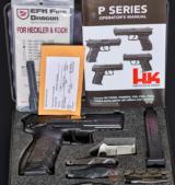 HK P30S V3 – Night Sights-Extra Barrel-9MM NRA Ex. - No CC Fee - $$$ Reduced - 3 of 9
