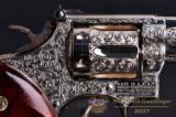 "Smith & Wesson Model 19-3 4"" Nickel – Engraved and Fully Loaded – Must See - No CC Fee - 2 of 15"