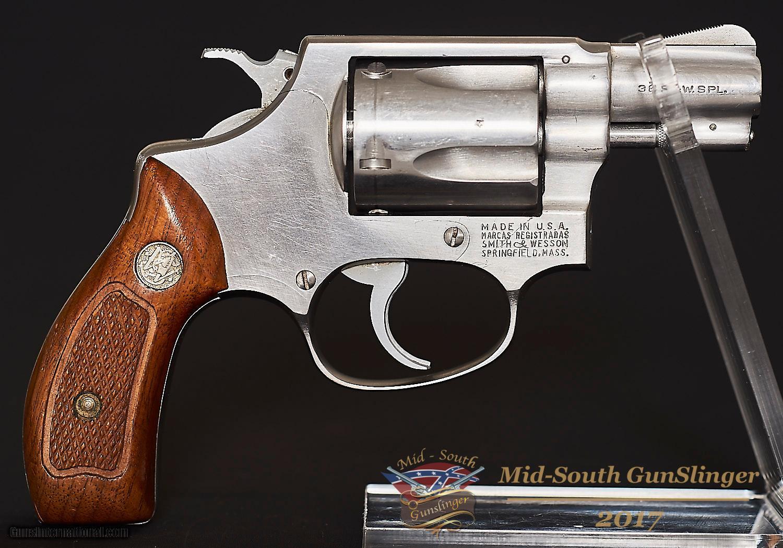 Smith & Wesson Model 60 – Pinned - No Dash – 38 – NRA VG – No CC Fee