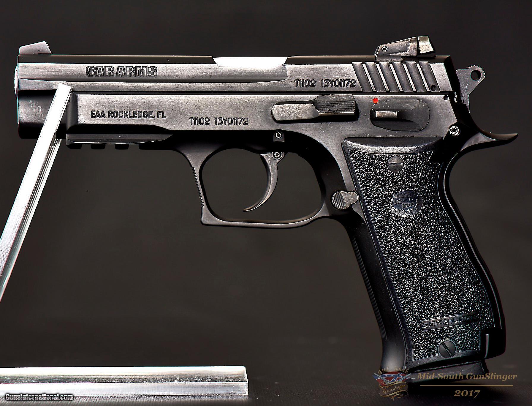 EAA / Sarsilmaz SAR-K2 – 45 ACP – 15 Rd – As New – No CC Fee