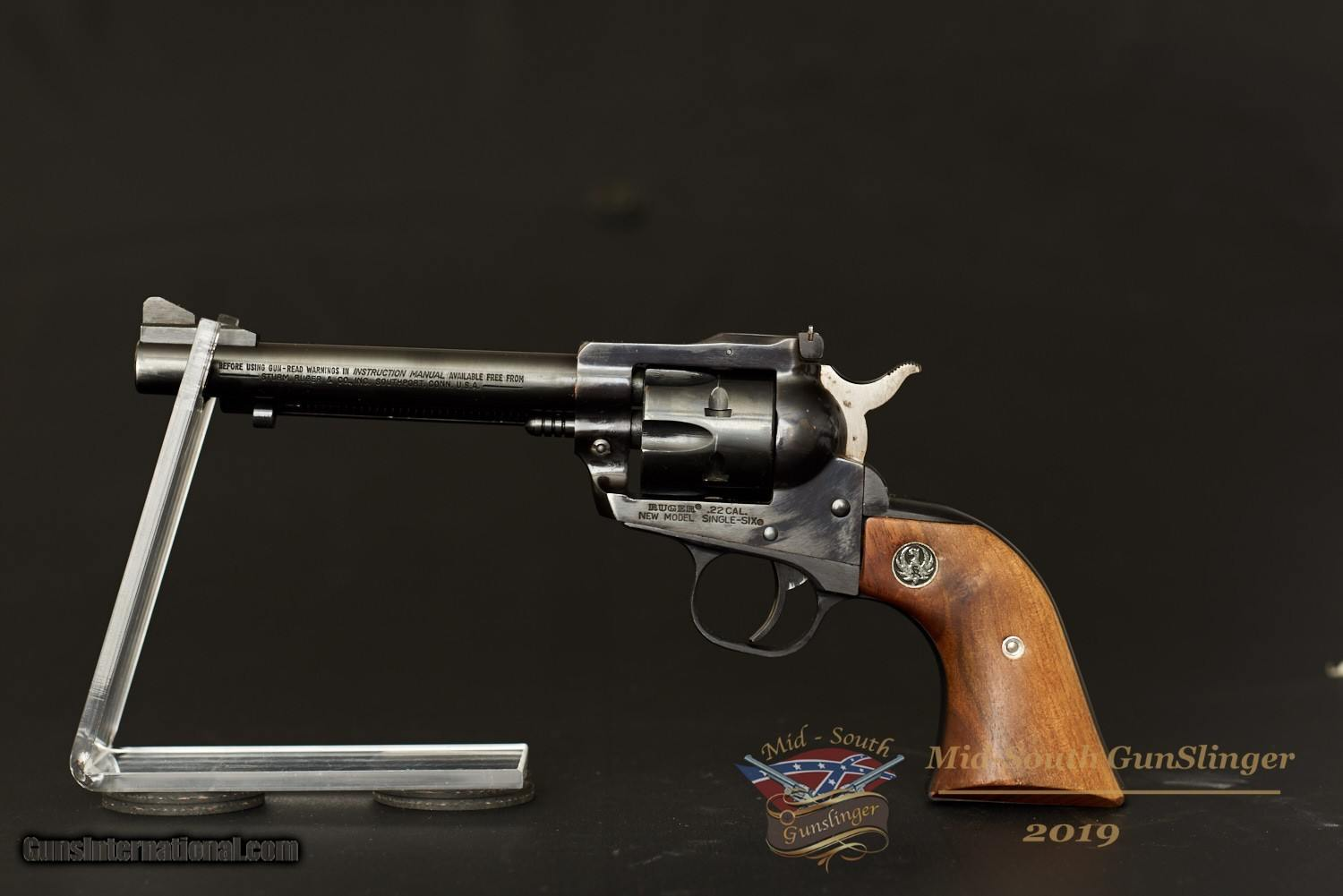 Ruger Single Six - New Model – 22 LR – No CC Fee – Leather