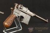 C96 Mauser Pistol – Red 9 – 9X19 – No CC Fee - 1916 - 6 of 25