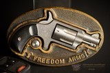 Freedom ArmsBelt Buckle/Revolver Combo - 22 LRBelt Buckle -No CC Fee - 1 of 2