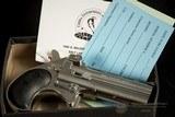 Cobra Long Bore CLB38CB - 38 Spl Derringer – As New – Black Chrome – No CC Fee 3 ½