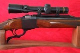 Weaver Rifles Custom 17 Squirrel.Built on a Ruger #1 action.SN: 130-07990