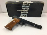 Smith & Wesson Model 41 Target 7 3/8in .22lr w/box