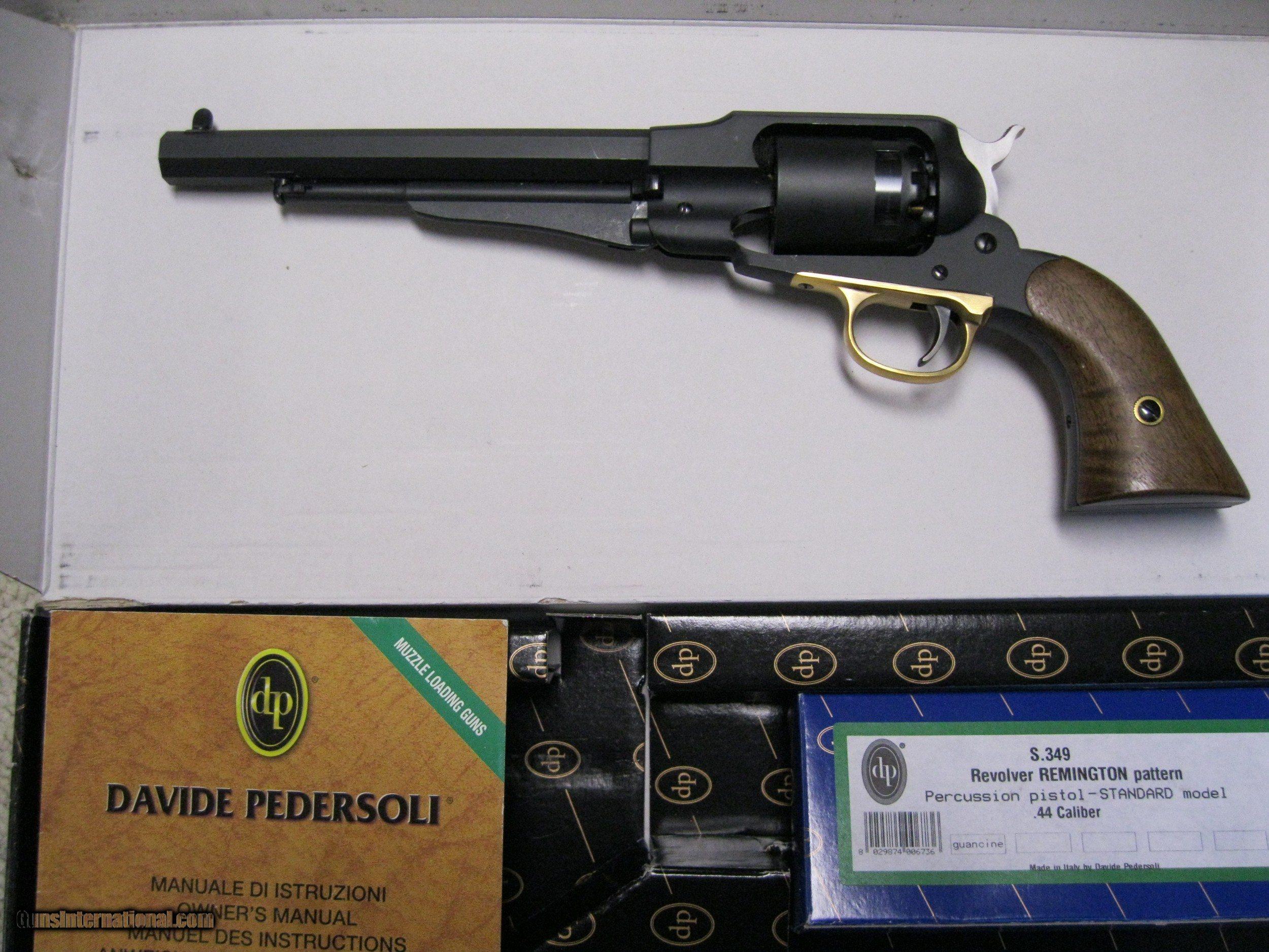 Pedersoli 1858 Remington Competition Revolver