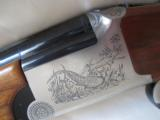 FRANCHI ALCIONE SL 12ga O/U 7 lbs NEVER FIRED Separated barrels 28 inch Engraved with Luggage Case - 2 of 12
