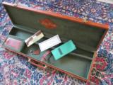 FRANCHI ALCIONE SL 12ga O/U 7 lbs NEVER FIRED Separated barrels 28 inch Engraved with Luggage Case - 12 of 12