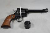 Ruger, New Model Single Six, revolver, CONVERTIBLE (.22 LR & .22 Mag.) - 1 of 11