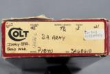 Colt, Single Action Army (SAA), 3rd generation, .45 LC - 13 of 14