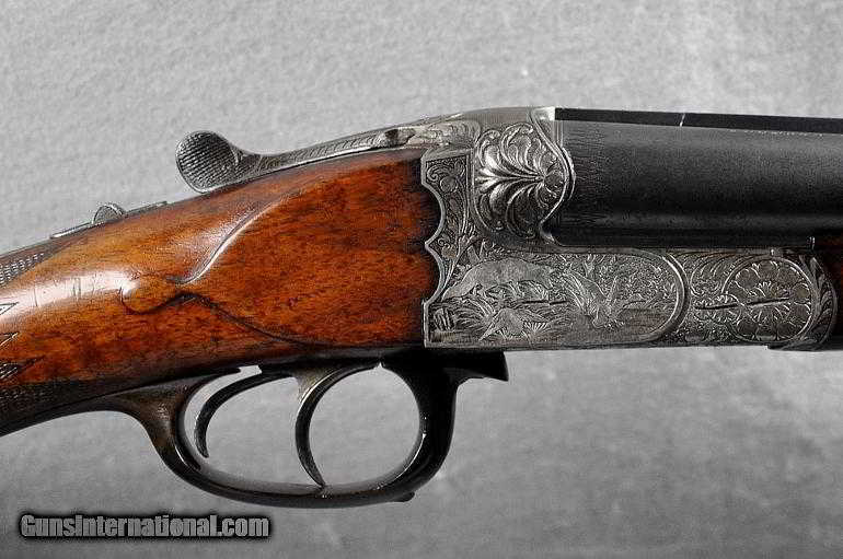 gebr adamy suhl germany double barrel shotgun 16 gauge. Black Bedroom Furniture Sets. Home Design Ideas