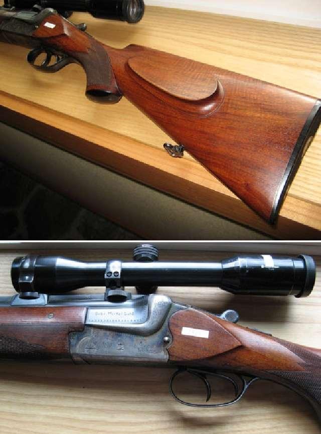 Merkel 220E Double Rifle 9.3x74R