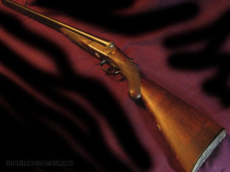 Scholefield 12 ga BLNE engraved