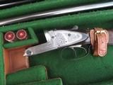 Cased Rigby 2 Barrel Set 12 Bore Lightweight Gun - 6 of 9