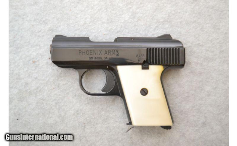 Phoenix Arms Raven  25 ACP