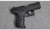 Walther P22, .22 LR - 1 of 2