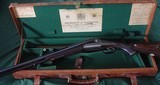 Holland & Holland 465 Ejector DR Cased - 1 of 20