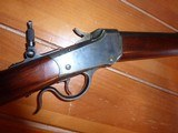Winchester 1885 22WCF British ProofHigh condition - 2 of 11