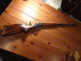 Winchester Low Wall 1885 22 LR Custom