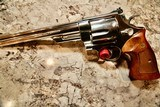 Smith and Wesson Model 29 Nickel