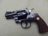 "Colt Python 2.5"" (2 1/2"") Royal bluer, box, papers, Letter"