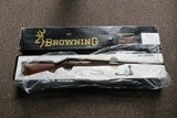 Browning Model 52 Limited Edition 22 Long Rifle New in Box