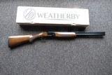 Weatherby Orion Grade 1 Over & Under, 12 Gauge NIB