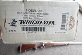Winchester Model 70 SA in 22-250 w/factory miss labeled box - 2 of 10