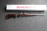 Winchester Model 70 SA in 22-250 w/factory miss labeled box - 1 of 10