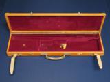 ENGLISH LEATHER SHOTGUN CASE - 1 of 2