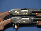WINCHESTER 12 12 GAUGE PIGEON GRIEBEL ENGRAVED PAIR
