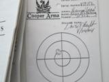 COOPER CLASSIC M21 .222 RIFLES - NEW CONDITION - CONSECUTIVE NUMBERED PAIR - 12 of 12