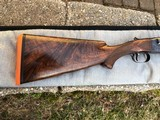 Winchester Model 21 12 ga. Trap Grade Skeet gun, engraved with interesting provenance-Excellent.