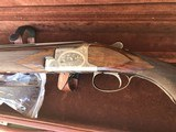 Browning B2G 28ga. 29 5/8 inch barrels. 2007 Custom Shop gun. Nicely engraved. Small bore beauty priced to sell!