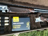 """Browning Model 625 12ga. Golden Clays w/32"""" barrels. Spectacular wood-mint in case. - 3 of 7"""