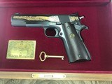 Colt .22 Ace-Signature Series 1981-wood case-looks unfired. - 1 of 4