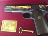 Colt .22 Ace-Signature Series 1981-wood case-looks unfired. - 3 of 4