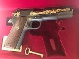 Colt .22 Ace-Signature Series 1981-wood case-looks unfired. - 2 of 4