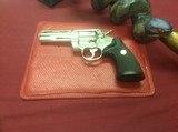 ColtPython .357 Mag.Mint.Nickel